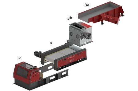 Design of the separator for non-ferrous metals