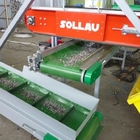 Conveyor magnetic separator with automatic cleaning DND-AC