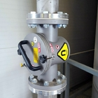 Pipeline magnetic separator for pneumatic conveying lines MSP-S